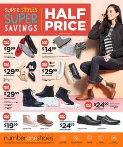 Clothing, shoes & accessories offers in the Number One Shoes catalogue in Christchurch