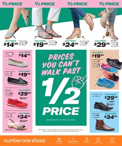 Offers from Number One Shoes in the Rotorua special