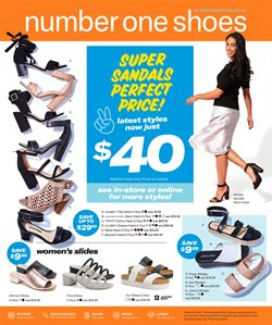 Clothing, shoes & accessories offers in the Number One Shoes catalogue in Paraparaumu