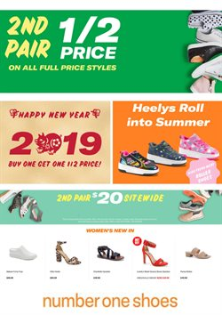 Offers from Number One Shoes in the Rolleston special