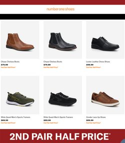 Number One Shoes catalogue in Auckland ( 1 day ago )