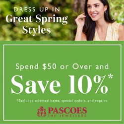 Pascoes offers in the Pascoes catalogue ( Published today)