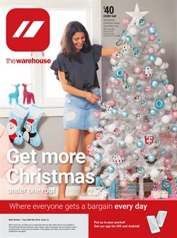 Homeware & Furniture offers in the The Warehouse catalogue in Paraparaumu