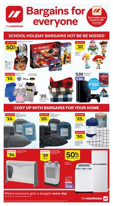 Offers from The Warehouse in the Temuka special