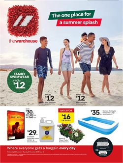 Homeware & Furniture offers in the The Warehouse catalogue in Auckland