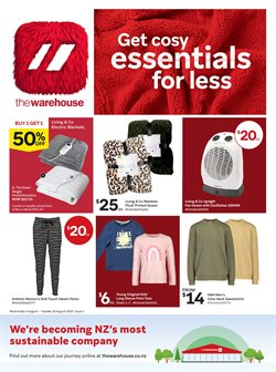 Homeware & Furniture offers in the The Warehouse catalogue in Wellington ( 8 days left )