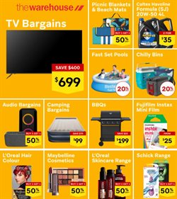 Homeware & Furniture offers in the The Warehouse catalogue in Tauranga ( 15 days left )