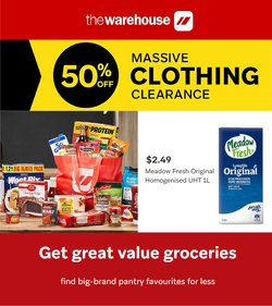 The Warehouse catalogue ( 5 days left)