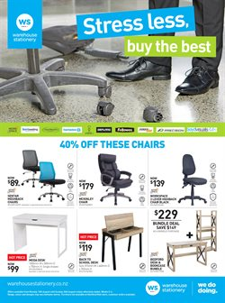 Offers from Warehouse Stationery in the Palmerston North special
