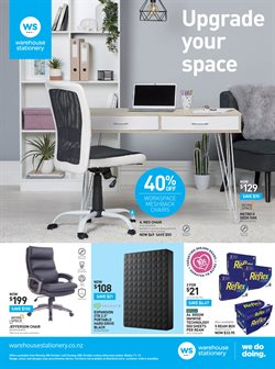 Offers from Warehouse Stationery in the Richmond special