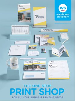 Warehouse Stationery catalogue ( More than a month)