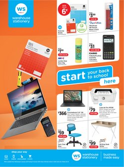 Warehouse Stationery catalogue ( 3 days left )