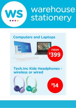 Warehouse Stationery offers in the Warehouse Stationery catalogue ( Expired)