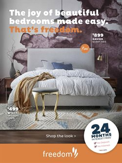 Offers from Freedom Furniture in the Auckland special