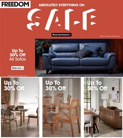 Homeware & Furniture offers in the Freedom Furniture catalogue ( 3 days left )