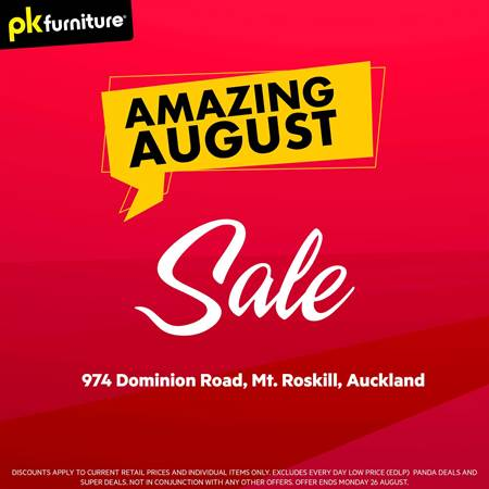 PK Furniture in Auckland | New Catalogue and Coupons
