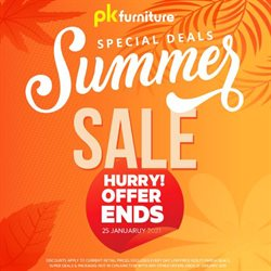 Homeware & Furniture offers in the PK Furniture catalogue ( 2 days left )
