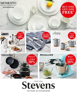 Offers from Stevens in the Nelson special