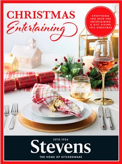 Christmas offers in the Stevens catalogue ( Published today)