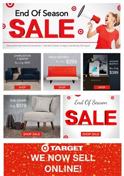 Offers from Target in the Putaruru special