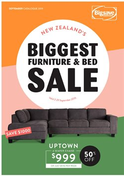 Offers from Big Save in the Auckland special