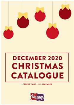 Christmas offers in the Big Save catalogue ( Published today)