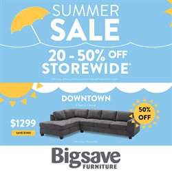 Homeware & Furniture offers in the Big Save catalogue in Tauranga ( 23 days left )