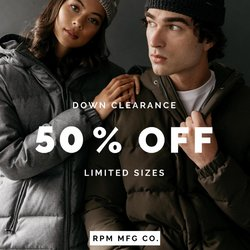 RPM offers in the RPM catalogue ( 8 days left)