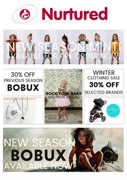 Offers from Nurtured in the Hamilton special