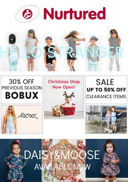 Clothing, shoes & accessories offers in the Nurtured catalogue in Auckland