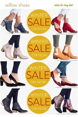 Offers from Willow Shoes in the Auckland special