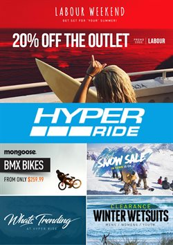 Offers from Hyper Ride in the Auckland special
