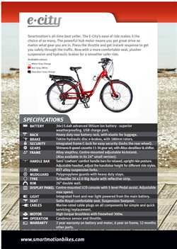 Offers from Burkes Cycles in the Wellington special