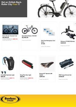 Burkes Cycles catalogue ( Expired )
