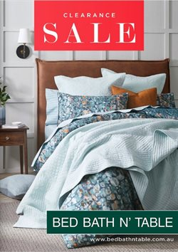 Homeware & Furniture offers in the Bed Bath N' Table catalogue in Tauranga ( 24 days left )