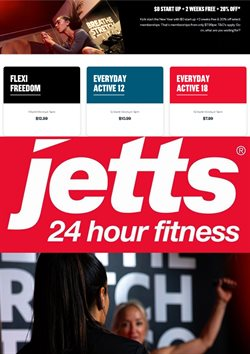 Jetts Fitness catalogue ( Expired )
