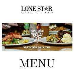 Restaurants offers in the Lone Star catalogue in Carterton