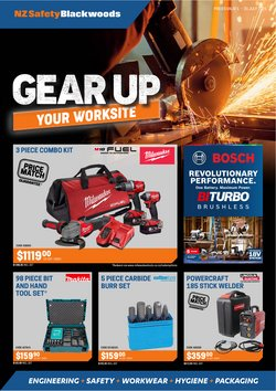 NZSafety Blackwoods offers in the NZSafety Blackwoods catalogue ( 4 days left)