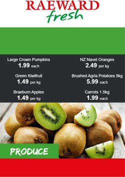 Raeward Fresh offers in the Raeward Fresh catalogue ( Expires today)