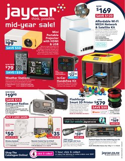 Electronics & Appliances offers in the Jaycar catalogue ( 3 days left)