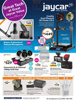 Electronics & Appliances offers in the Jaycar catalogue ( 2 days left)