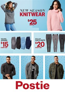 Clothing, shoes & accessories offers in the Postie catalogue in Carterton