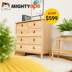 Department Stores offers in the Mighty Ape catalogue ( Expires today)