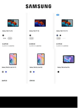 Samsung catalogue ( Expired )