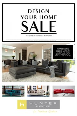 Offers from Hunter Furniture in the Auckland special