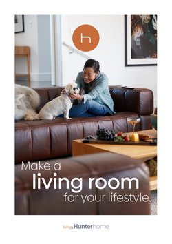 Homeware & Furniture offers in the Hunter Furniture catalogue ( 3 days left)