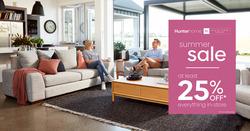 Hunter Furniture coupon ( 2 days left )