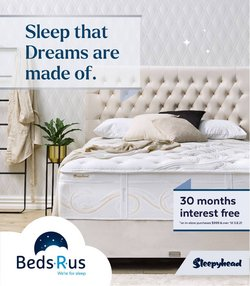 Beds R Us offers in the Beds R Us catalogue ( 8 days left)