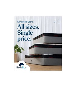 Homeware & Furniture offers in the Beds R Us catalogue ( Expires today)