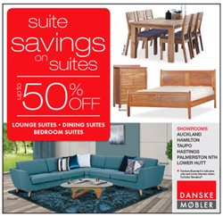 Offers from Danske Mobler in the Auckland special